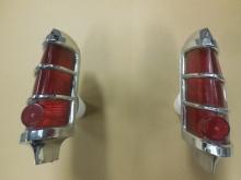 1963, Pontiac, Catalina, Bonneville, Left, Right, Tail, Light,taillight, tail lamp