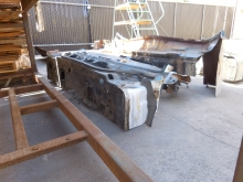 1970, Chevrolet, Impala, Cowl, Section,