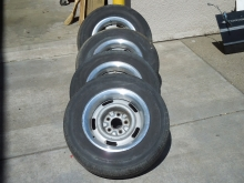 15x7 Chevrolet Rally Wheels