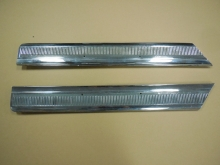 1964 Oldsmobile 98 Rear Left Right Lower Quarter Panel Moldings
