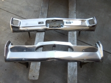 1967 Oldsmobile Cutlass Front Rear Bumpers