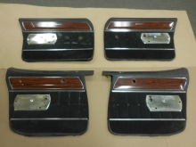 1970 Caprice 4 Door Set of Four Door Panels
