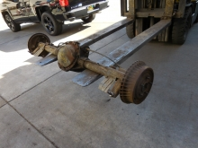 1968-1972 Chevrolet Chevelle 12 bolt non posi 2.73 rear end