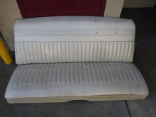 1965, Mercury, Marauder, 2, Door, Hard, Top, Rear, Upper, Lower, Seat,