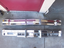 1976,1977, Chevrolet, Monte, Carlo, Front, Rear, Bumpers,
