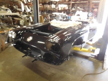 1958, Corvette, Restoration, in, Progress,