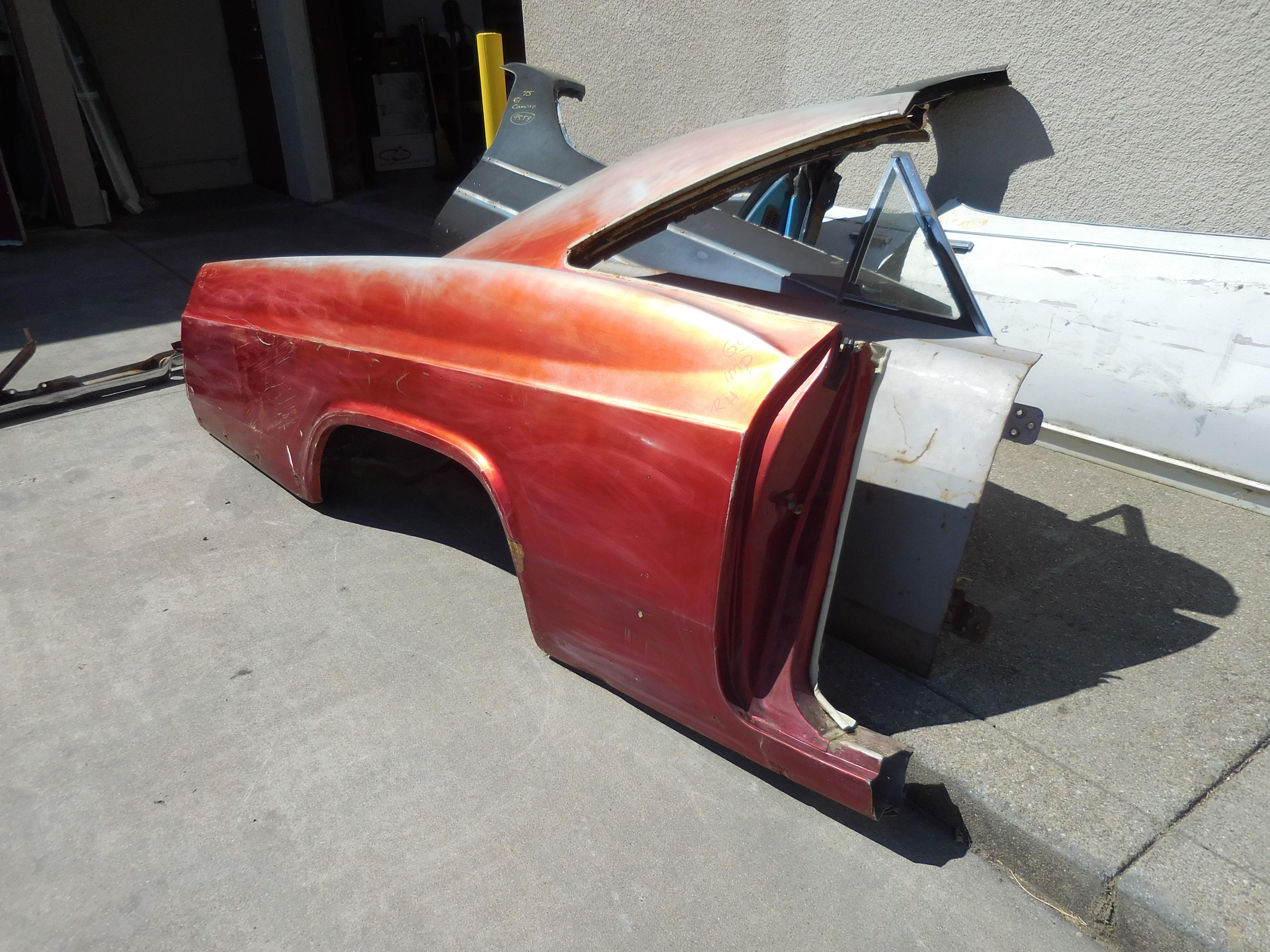 1965 Chevrolet Impala Right Quarter Panel | GM Sports