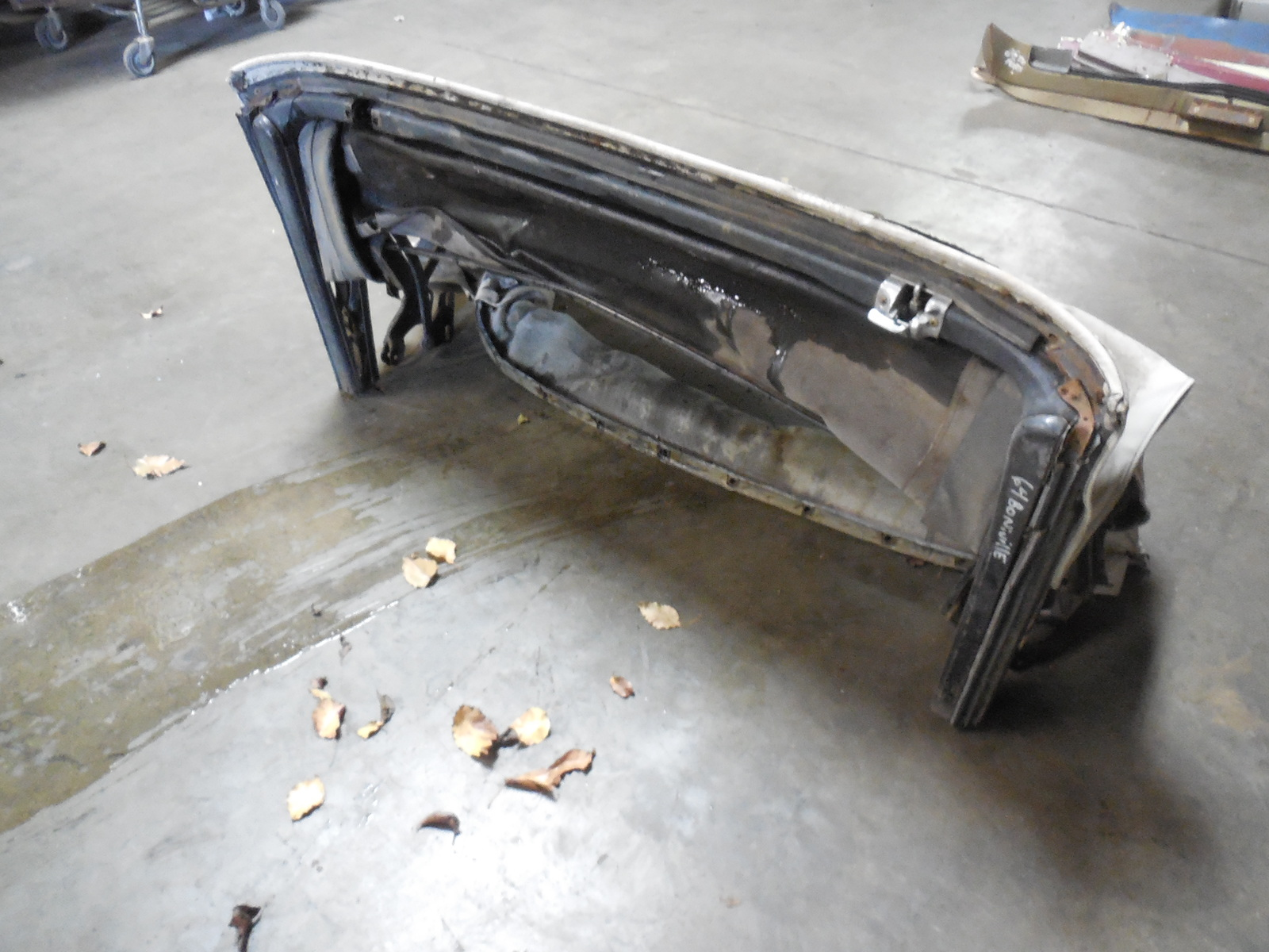 1963 1964 GM B & C Body Convertible Top Frame Assembly ...