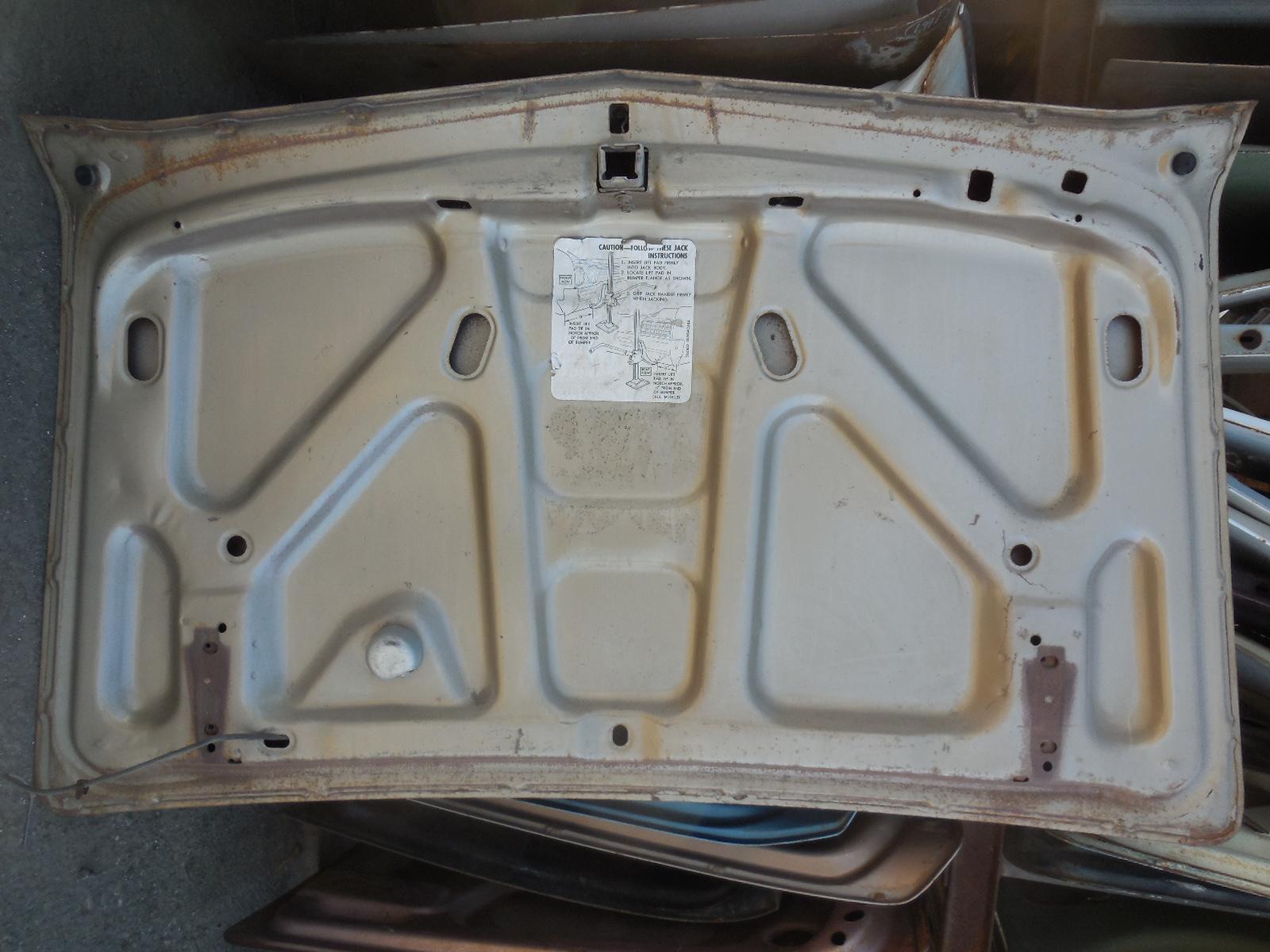 1966 Oldsmobile 88 Trunk Lid | GM Sports